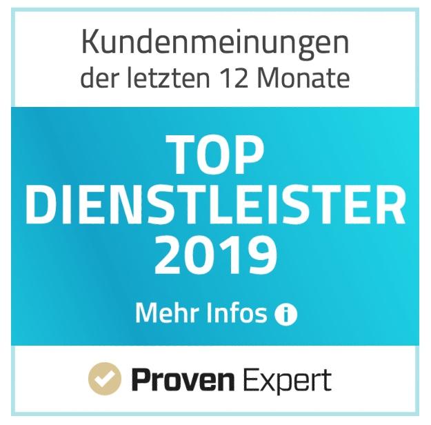 Versicherungsmakler Wolfsburg Top Dienstleister 2019