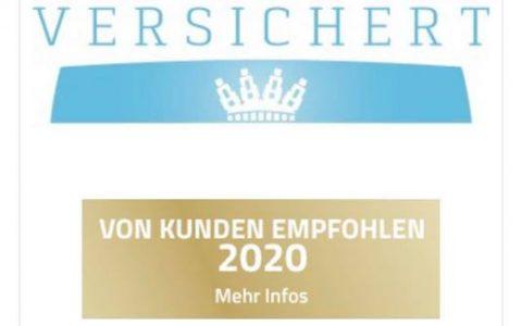 Vom Kunden empfohlen 2020
