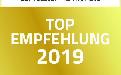 Top Empfehlung 2019